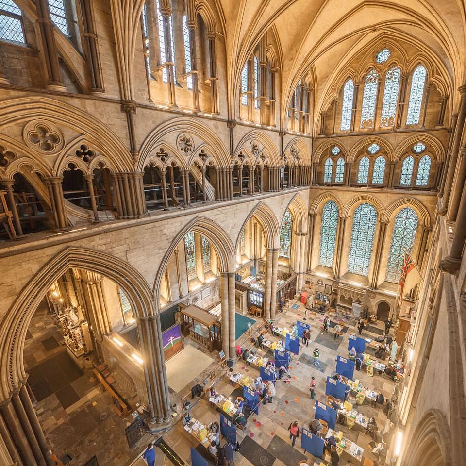 Bach és Händel művei szólnak az oltóközponttá alakított Salisbury Székesegyházban
